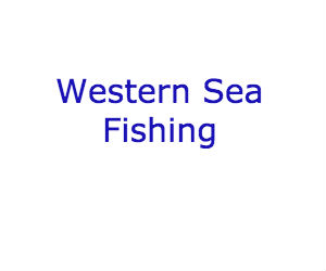 Western Sea Fishing